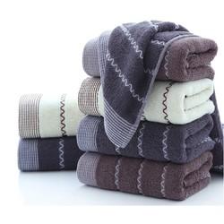 斜月三星 成人洗脸毛巾 5条装 四色可选