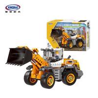 星堡积木 03035 铲车装载车 工程车系列益智玩具积木