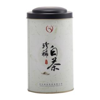 绿颐绿茶 一级珍稀白茶 100g*2件