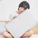 小编精选、新品发售:米家 天然乳胶护颈枕 混灰色 40*20cm 舒适睡眠,从换一只好的乳胶枕开始