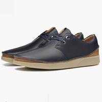clarks 其乐 261353937080 Oakland Lace 男士经典复古休闲牛皮鞋