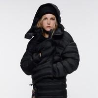 ZARA TRF 04341229800 长版绗缝夹克