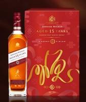 Johnnie Walker 尊尼获加15年 调配麦芽苏格兰威士忌雪莉版 40度 700ml