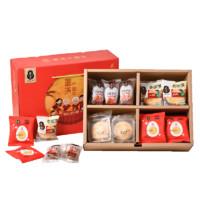 秋香 圆满中国年 四种中式糕点礼盒 1050g