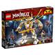 新品发售:LEGO 乐高 Ninjago幻影忍者系列 71702 黄金机甲 245元包邮