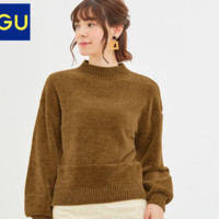 GU 极优 320115 高领针织衫