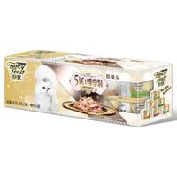 珍致 6种口味尊享礼盒装猫罐头 6罐*4