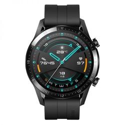 HUAWEI 华为 WATCH GT2 智能手表 黑色氟橡胶表带LTN-B19(曜石黑)