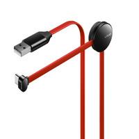 vivo Type-C 闪充手游数据线-2A 红黑