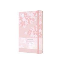 MOLESKINE 魔力斯奇那 樱花系列 硬面口袋手账本 粉色