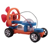 可普 DIY益智空气动力小车