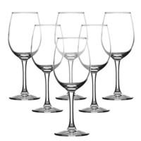 京东PLUS会员 : 青苹果红酒杯高脚杯葡萄酒杯套装270ml6只装 EJ5627 *4件