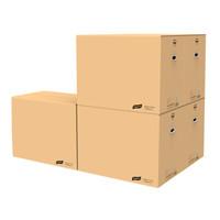 太力 搬家纸箱子有扣手大号60*40*50cm(5个装) *3件