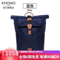 KNOMO英伦双肩包帆布大容量背包男包15.6寸电脑包 15寸以内机型(收藏加购享优先发货)