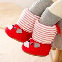 洛米笛诺 软底加厚高帮婴儿步前鞋