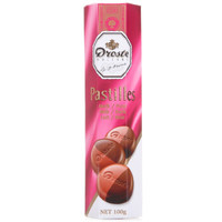 荷兰进口 Droste 多利是奶油苦味双色条装巧克力 糖果零食 100g *10件