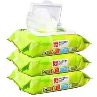 gb 好孩子 婴儿湿巾   80片*3包 *5件