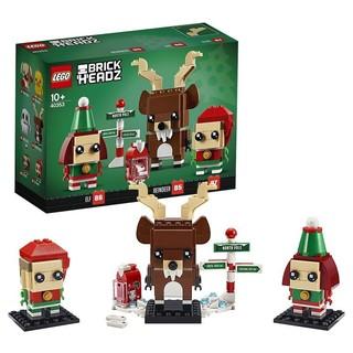 LEGO 乐高 方头仔系列 40353 驯鹿和圣诞精灵