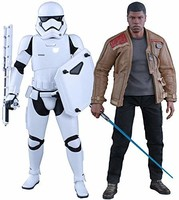 Hot Toys 套装 Star Wars The Force Awakens 公仔