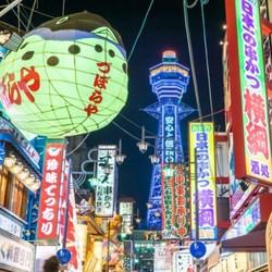 非廉航直飞!天津-日本大阪、名古屋6天开口程机票