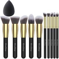 EmaxDesign 专业化妆刷11件套+美妆蛋