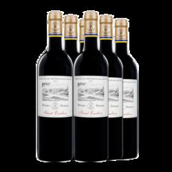 法国DBR拉菲红酒 传奇/收藏/尚品波尔多系列红葡萄酒750ml*6 珍酿圣爱漂亮乐整箱