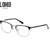 LOHO 超轻几何眼镜框+1.60近视镜片