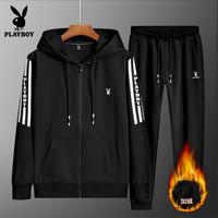 Playboy VIP Collection 花花公子 MT81932RTZ 男款户外外连帽开衫
