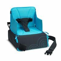 Munchkin 旅行增高座椅 灰色/蓝色