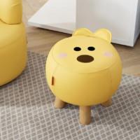 顾家家居 熊小米联名款 创意换鞋凳