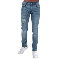 银联专享 :  Crosshatch Kiniston Skinny Ripped 男士牛仔裤