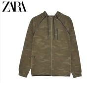 ZARA 06530300020 男装 连帽宽松卫衣