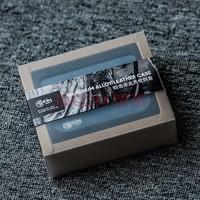 新品发售 : hiby 海贝 铝合金皮质收纳盒