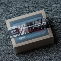 hiby 海贝 铝合金皮质收纳盒