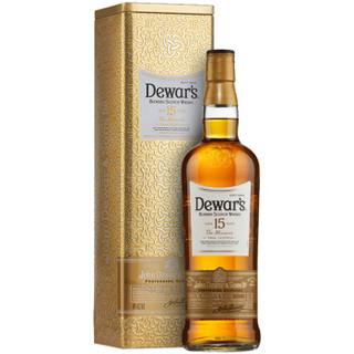Dewar's 帝王 15年苏格兰调配威士忌 750ml *2件