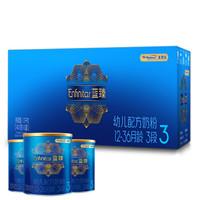 MeadJohnson Nutrition 美赞臣 蓝臻幼儿配方奶粉3段 (400克*3)