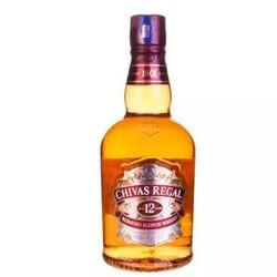 15号0点:Chivas 芝华士 12年苏格兰 威士忌 40度 1L *2件
