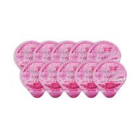 OKINA LONGSPIN 家庭袋装便携果冻型漱口水  14毫升 10个装/袋 *4件