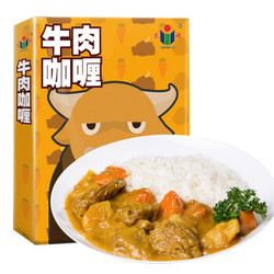 泰祥 牛肉咖喱  日式风味方便速食拌饭 加热即食速食产品 200g单盒装