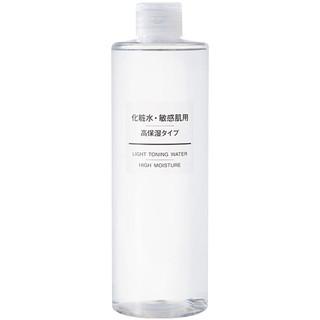 MUJI无印良品敏感肌系列化妆水爽肤水 高保湿型 400ml 温和舒敏 保湿补水 干性敏感性肤质适用 *3件