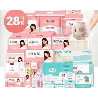 京东PLUS会员 : 十月结晶 孕妇待产包 28件套 *2件 +凑单品