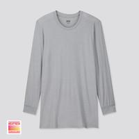 UNIQLO 优衣库 HEATTECH 418790 男款圆领T恤(九分袖)
