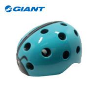 GIANT捷安特甲壳虫一体成型儿童运动健身骑行头盔 天蓝色(52-56CM)