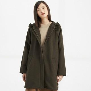 CHIN 祺 310529 女士中长款毛呢大衣 *3件