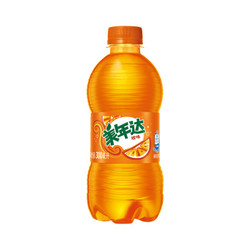 美年达 Mirinda 橙味 汽水碳酸饮料 300ml*24瓶 新老包装随机发货