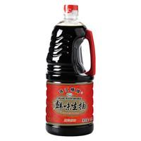 珠江桥牌 酱油 鲜味生抽 非转基因酿造 提鲜凉拌点蘸 1.9L 广东老字号