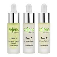 银联专享 : Zelens 维生素A+C+D浓缩护肤精华套装 10ml*3
