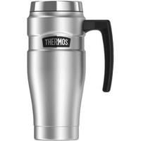 美国直邮 膳魔师(Thermos) SK1000STRI4不锈钢真空绝缘旅行杯,16盎
