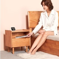 8H  JMG2 Free无线充电实木床头柜
