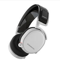 steelseries 赛睿 Arctis 7 寒冰 无线游戏耳机 白色